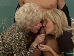 Mommy and daughter Erica Lauren & Mrs Jewell fuck with one guy
