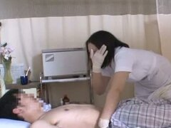 Teen Nurse Pleases A Patient By Stuffing Her Face With Cock