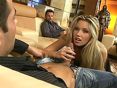 Double Penetration Time For This Blond Porn Star