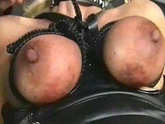 Bruised and battered mature titties
