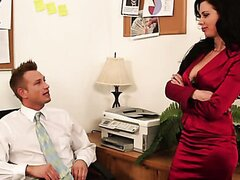 Holiday sex in the office/Veronica Avluv