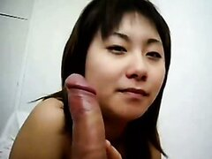 Asian homemade blowjob video