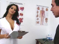 Bewitching Ava Addams in nurse uniform having wild sex