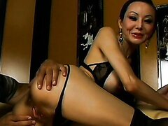 Tight Asian Milf Asshole Gets Pummeled