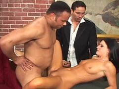 Cuckold Groom Watching How His Bride India Summer Fucks a Hard Stud