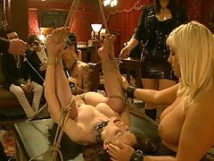 Willing Pain Slaves Are Tied Up And Fucked Hard In Nasty BDSM Orgy
