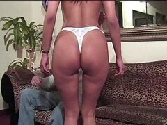 Horny Brunette Hooker Takes it in the Ass and Sucks Cock