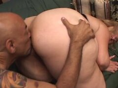 Hot and Horny Blonde BBW Gets Analized by a Big Black Cock